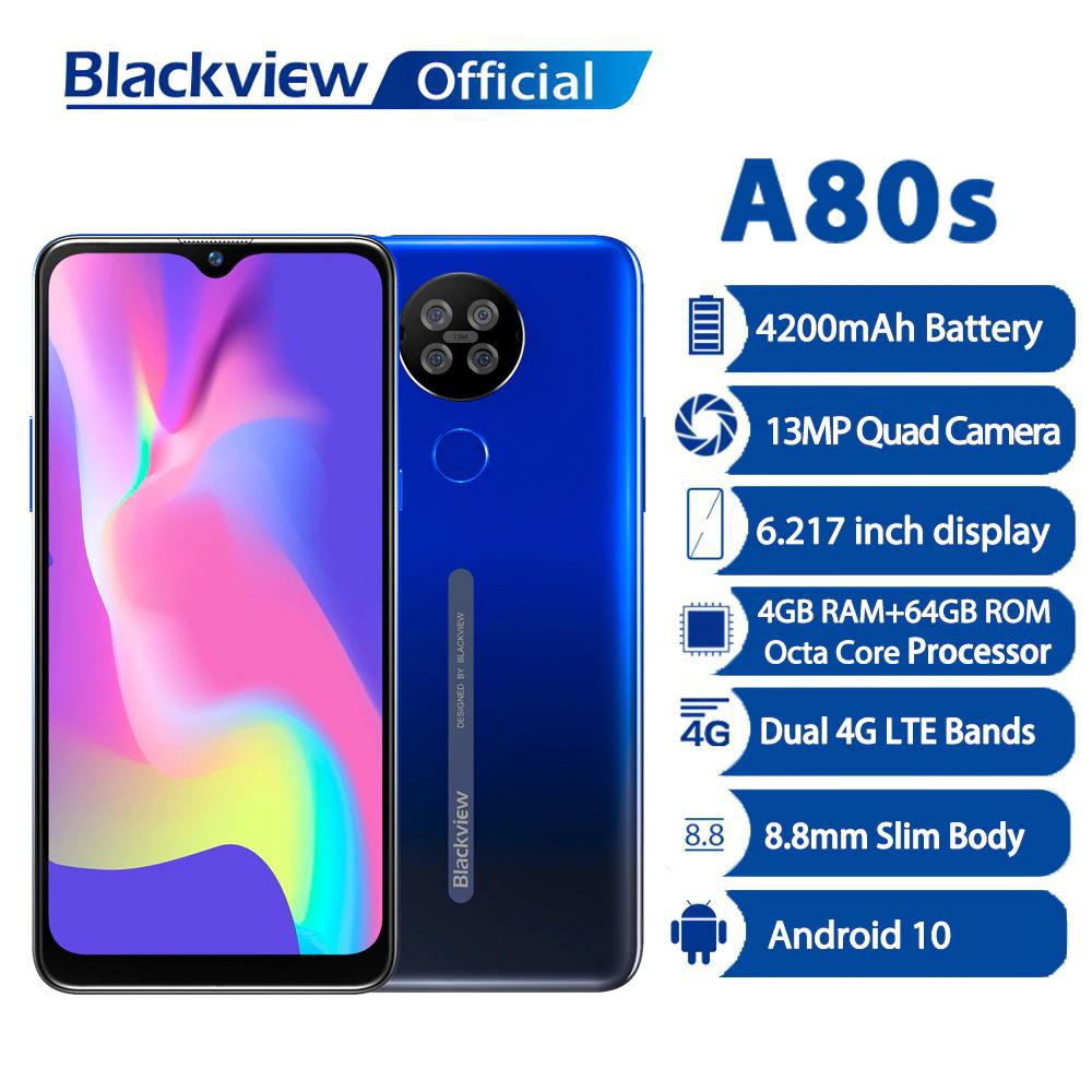 Blackview nuovo Smartphone A80s 4GB RAM 64GB ROM