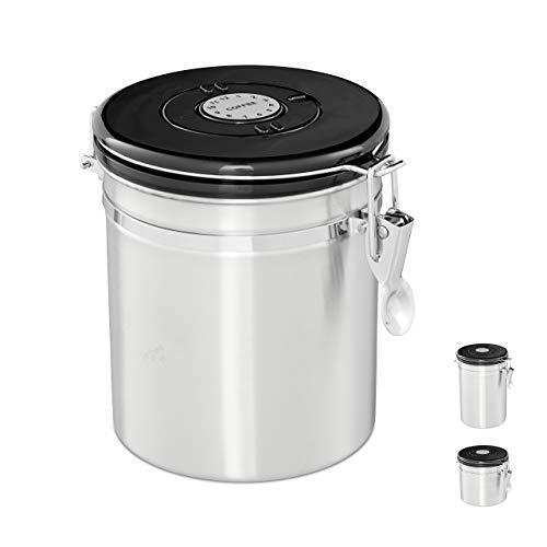 Contenitore da caffè ermetico in acciaio INOX - 1,3 L
