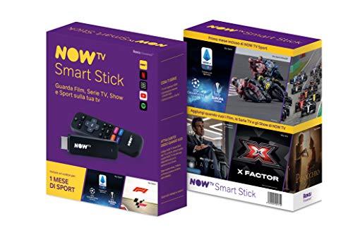 NOW TV Smart Stick + 1 mese di Sport