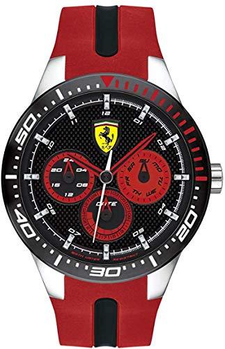 Orologio Ferrari - Chrono con cinturino in silicone