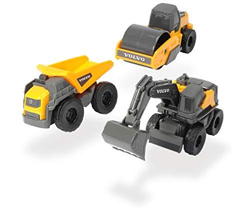Dickie toys - Set 3 giocattoli Volvo