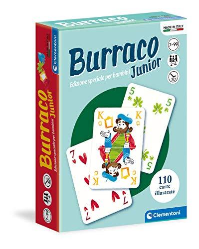 Clementoni- Carte da Gioco-Burraco Junior