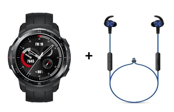 Huawei Watch GS Pro + Auricolari bluetooth Honor Sports