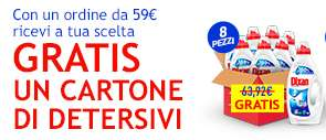 Henkel - IN OMAGGIO un Cartone a tua Scelta con spesa minima di 59€