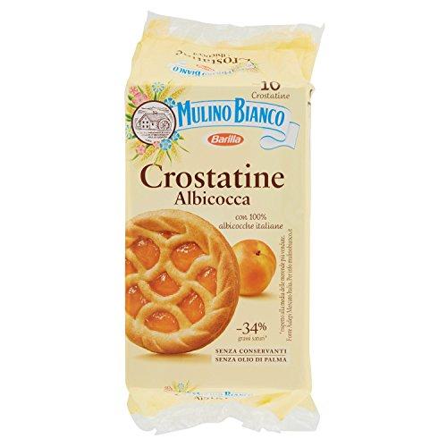 Mulino Bianco Crostatine con Confettura di Albicocca, 10 Pezzi