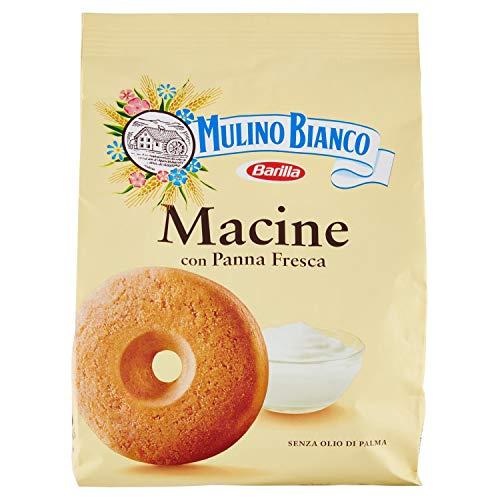 Mulino Bianco - Biscotti Frollini Macine con Panna Fresca - 800gr