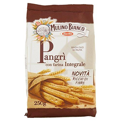 Mulino Bianco Grissini Rustici Classici Pangrì Snack Salato per La Merenda, 250g
