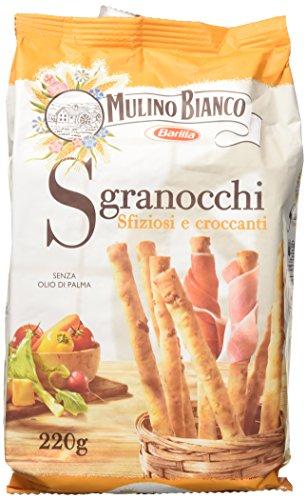 Mulino Bianco Grissini Sgranocchi Croccanti Ottimi come Snack, 220 g