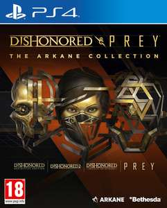 Dishonored and Prey: The Arkane Collection - PS4 / Xbox One