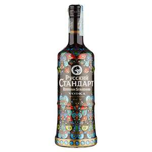 3X 700 ml - Russian Standard Original Vodka Sleeve Cloisonne