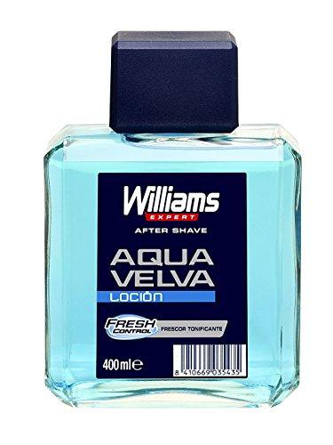 Williams Aqua Velva Lozione Aftershave – 4 confezioni x 400 ml – totale 1600 ml