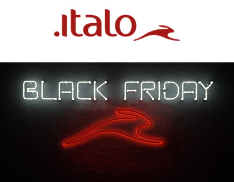 Il Black Friday di Italo va come un treno! Sconti del -40%.