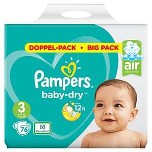 Pannolini Pampers Baby-dry - TG 3 - 76 pannolini