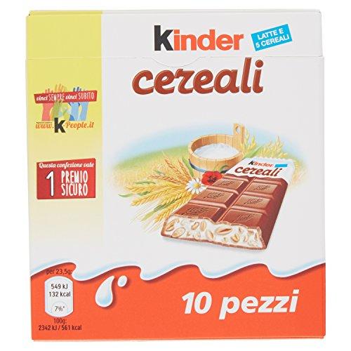 Kinder cereali - confezione da 10 barrette