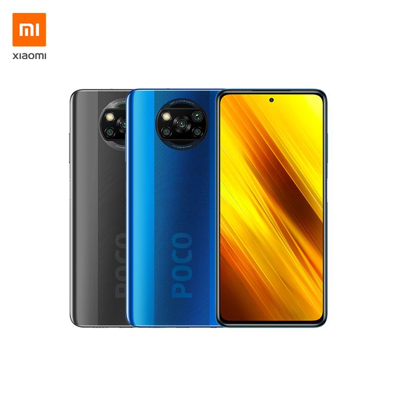 "Xiaomi POCO X3 NFC, Smartphone 6+128GB, display 6,67"" FHD+, Snapdragon 732G, 64MP AI Quad-Camera, batteria 5160mAh, Blu"