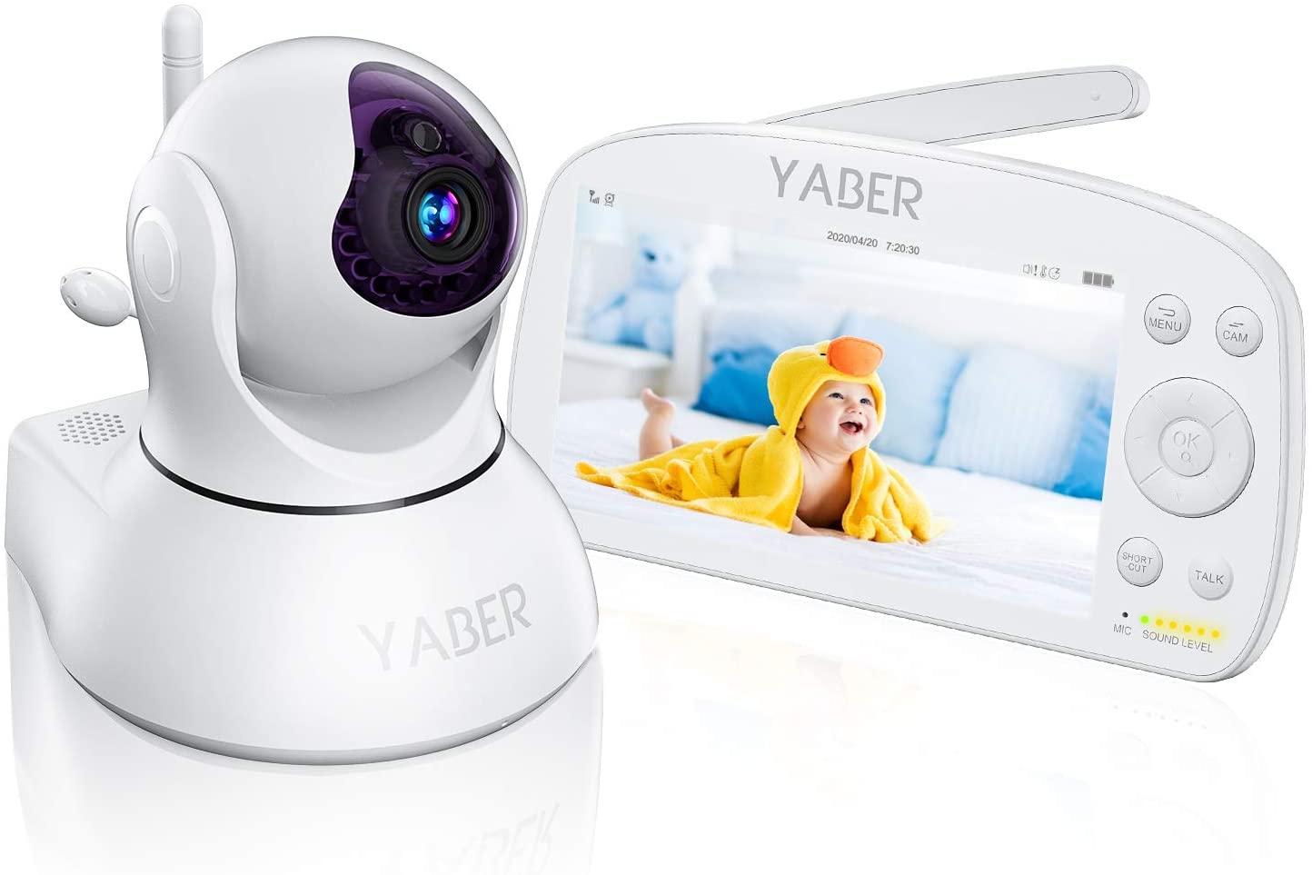 """Baby Monitor 1080P display da 5,5"""" 32.7€"""