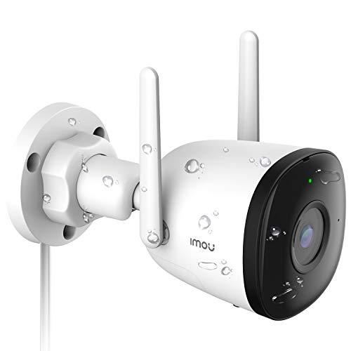 Telecamera WiFi Esterna, Imou 1080P Telecamera di Sicurezza con AI Rilevazione del Movimento Umano, IP67 Antipolvere & Impermeabile