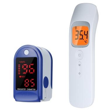 Termometro Infrarossi + Pulsossimetro da Dito