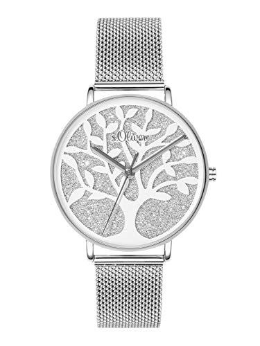 s.Oliver, orologio da polso analogico al quarzo