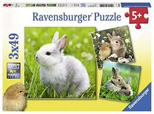 Puzzle Ravensburger - 3x 49 pezzi