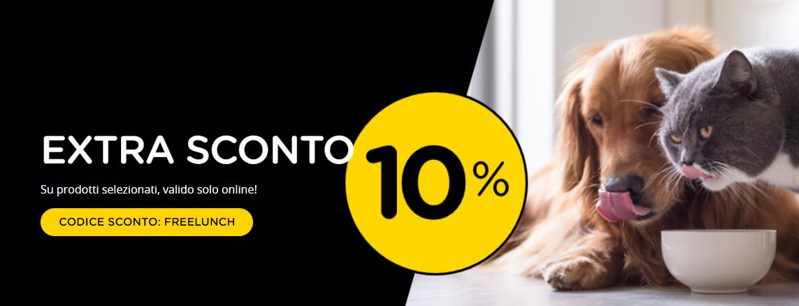 Arcaplanet Sconto Extra 10% su Prodotti Selezionati