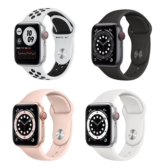 Watch Series 6 GPS+Cellular 40mm 449€