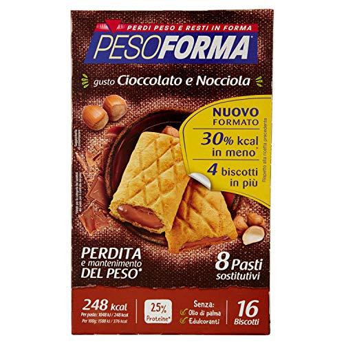 Pesoforma Biscotti Cioccolato e Nocciola - 8 pasti