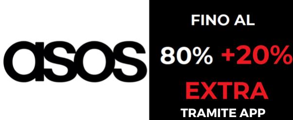 Fino al 80% + 20% EXTRA