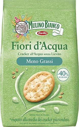 Mulino Bianco Cracker Fiori d'Acqua con Meno Grassi