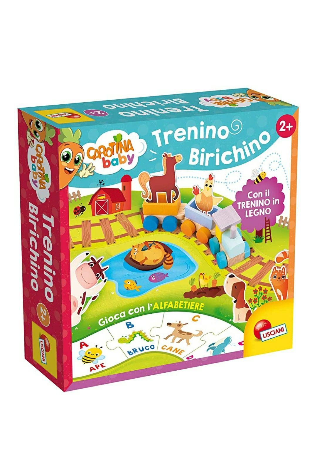 Lisciani giochi- Carotina Baby Trenino Birichino - 84005
