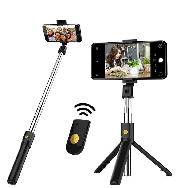Selfie Stick/Treppiede + Telecomando Bluetooth