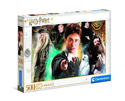 Puzzle Clementoni 500 pezzi - Harry potter