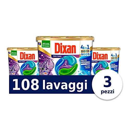Dixan Discs Freschezza di Lavanda 108 capsule