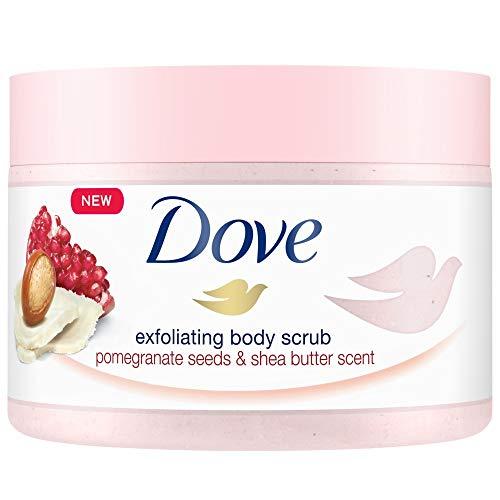 4x Dove Shower Body Scrub - Crema per corpo - 225 ml