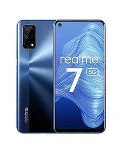 realme 7 5G Smartphone, Display ultra fluido a 120Hz, 48MP+16MP Quad Fotocamera, 6.5 Pollici Android Cellulari, 5000mAh , 6GB + 128GB,