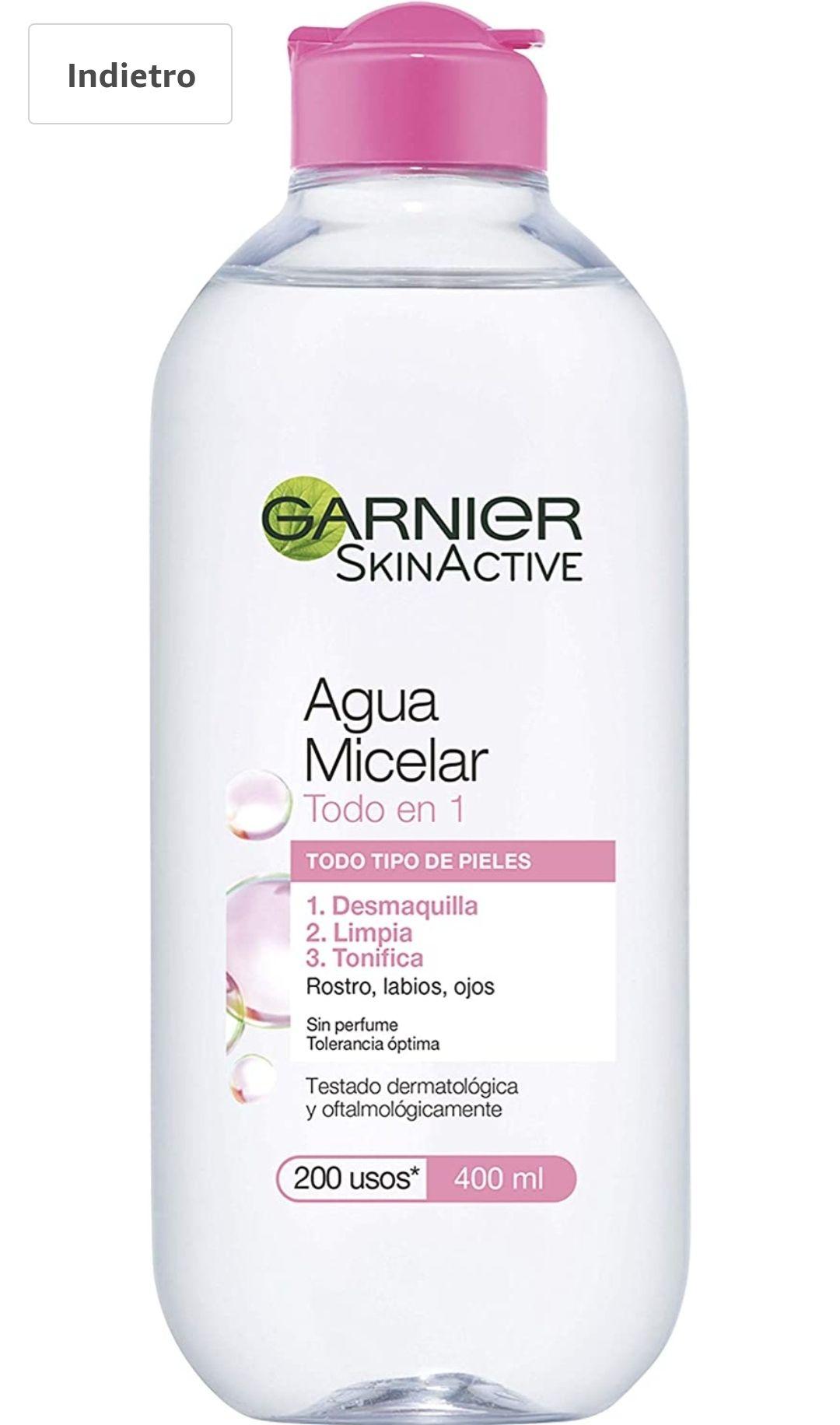 Garnier Struccante, Skin Naturals Cleansing Water, 400 ml