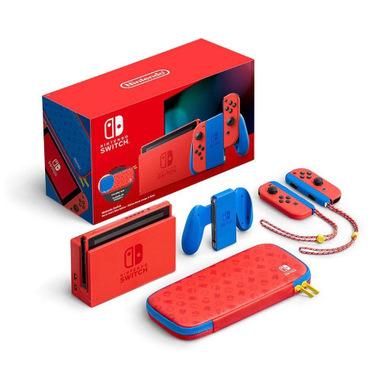 Unieuro/Amazon/Mediaworld: Nintendo Switch Edizione Speciale Mario (Rosso e Blu) - Special Limited