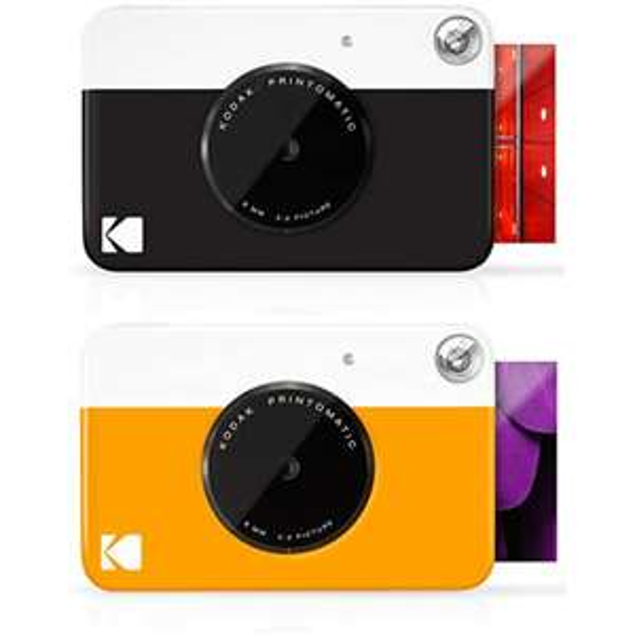 KODAK Printomatic Fotocamera istantanea Zink Zero Ink 2x3 con retro autoadesivo