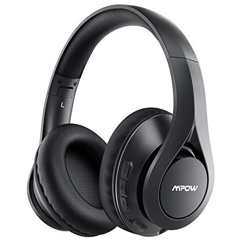 Mpow 059 IPO Cuffie Bluetooth 5.0 con microfono e tasti sul padiglione