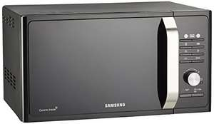 Samsung MG23F302TAK Forno Microonde Grill, 800 W, Grill 1100 W, Healthy Cooking, 23 Litri