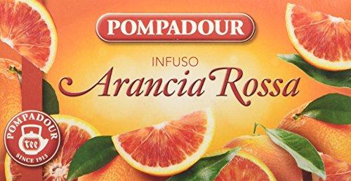 Pompadour Infusi Arancia Rossa - 20 filtri - 3 confezioni