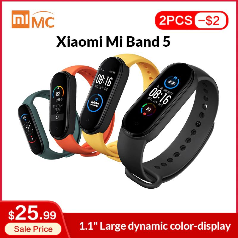 Xiaomi Mi Band 5 Global Version [Spedizione Francia]