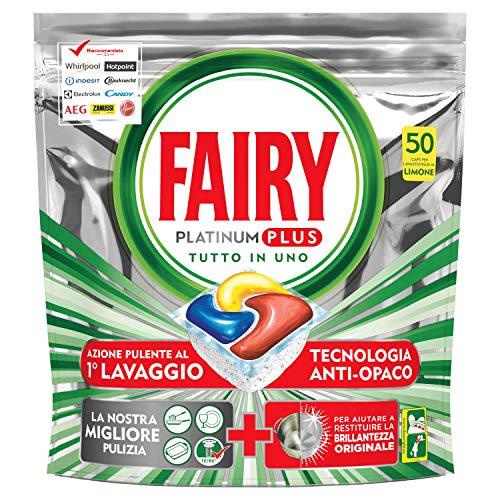 Fairy Platinum Plus Lavastoviglie X50 Pastiglie