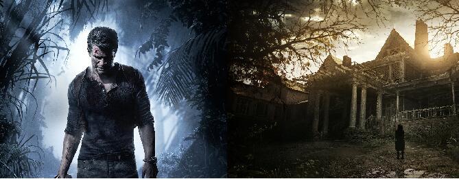 PlayStation 4 - Resident Evil 7 e Uncharted 4 Fine di un ladro