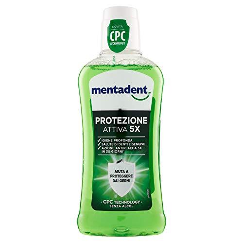 Mentadent -Collutorio Protezione Attiva 5X con Cpc Technology (400ml)