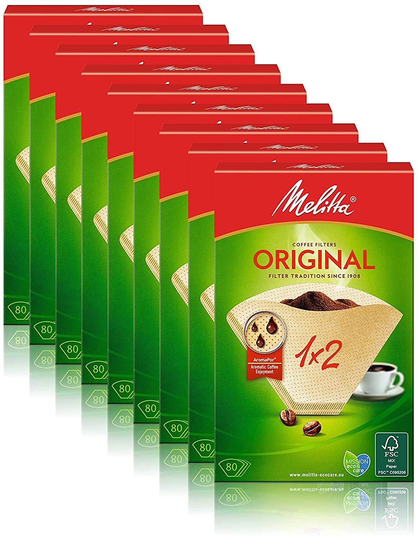 Filtri per caffè X720pz Melita 6.6€