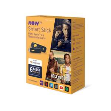 NOW TV Smart Stick con i primi 6 mesi a scelta tra Cinema oppure Entertainment