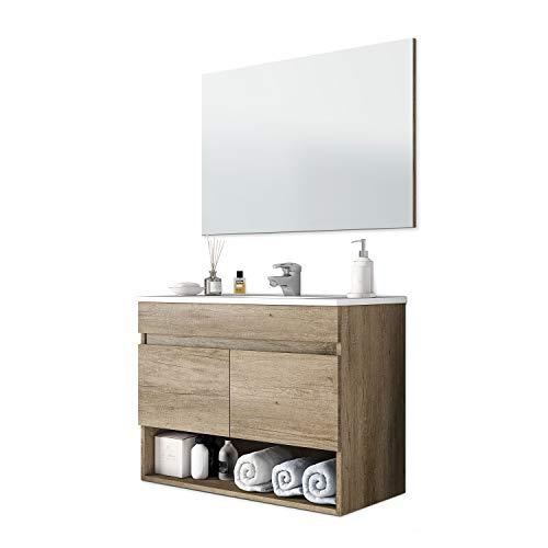 Set Mobile Bagno + Specchio