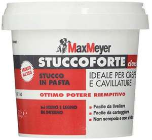 Stucco in pasta BIANCO 0,5 KG