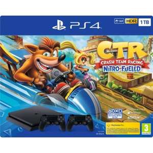 Sony Console fissa - Ps4 1tb + Crash Team Racing + secondo pad
